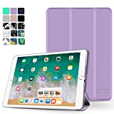 TNP iPad Mini 4 Case (Purple) - Ultra Slim Lightweight Folio Smart Cover Stand with Auto Sleep Wake Feature and Hard Rubberized Back for Apple iPad Mini 4 7.9 Inch Tablet 2015 Release