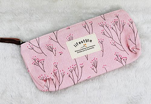 Cosmetic Pouch For Women - Vanity Necessaire Beauty Women Travel Toiletry Kit Make Up Makeup Case Cosmetic Bag Organizer Pouch Pencil Purse Bag - Pencil Case (1)