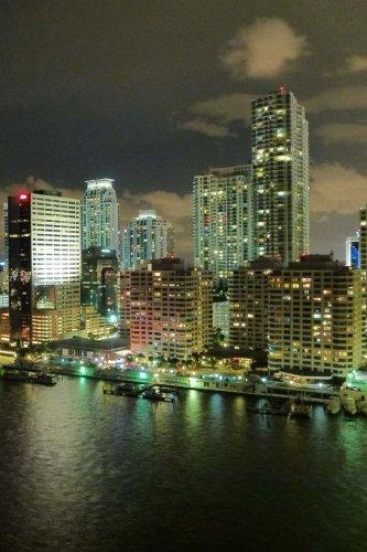 Miami Florida Skyline Notebook (Notebook Miami)