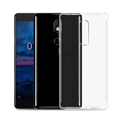 new arrivals 09462 23a66 AVIDET Nokia 6.1 (2018) Case, Crystal Clear Soft Thin Anti-scratches Cover  for Nokia 6.1 Nokia 6 2018 (Transparent)