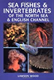 Front cover for the book Sea Fishes and Invertebrates of the North Sea by Lawson Wood