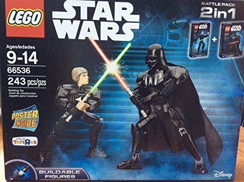 Buy LEGO Star Wars Figure Packs LEGO 66536 Buildable Darth Vader and Luke Skywalker combo pack