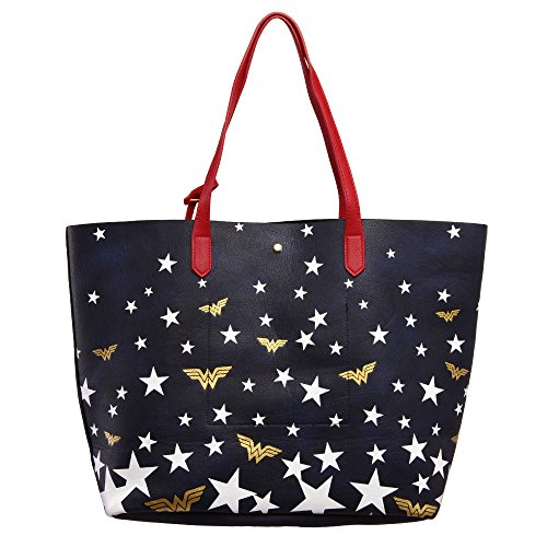 Official Large DC Woman Wonder Bag Tote with Handbag Tassels Comics vFZrPfWnv