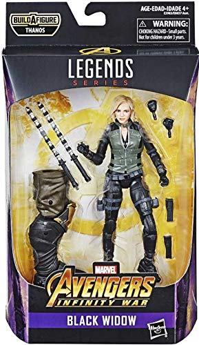 - Marvel Legends Series Avengers: Infinity War 6-inch Black Widow Figure