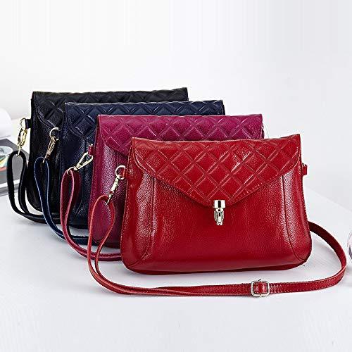 Tracolla Le A Per Con Black In Pelle Donna Cerniera Borse Handbag Ragazze wqzIXOR