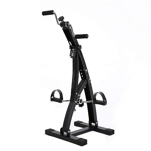 Bicicleta estática Ejercitador de brazos y piernas - Máquina para ...