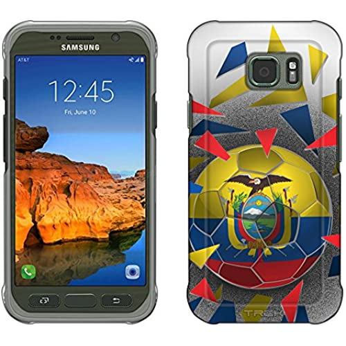 Samsung Galaxy S7 Active Case, Snap On Cover by Trek Soccer Ball Ecuador Slim Case Sales