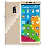 Padcod X4 Unlocked Smartphone 5.7'' IPS Display Curved Glass,Android6.0,MTK6580 Quad-Core 1.3GHz Processor,16GB ROM,Dual Sim Slot,Dual Camera,WIFI GPS G-Sensor,2G/3G Network Phone