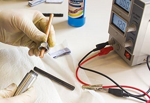"""électrode de graphite Stylet galvanique /""""GalvanoBrush/"""" pour la galvanoplastie"""