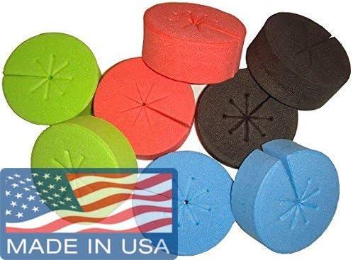 50x Premium Neoprene Foam Inserts Garden Clone Collars W//8 Spokes Cloning-Plant