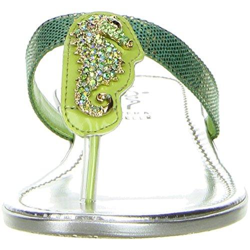 Vista Damen Zehentrenner grün Grün