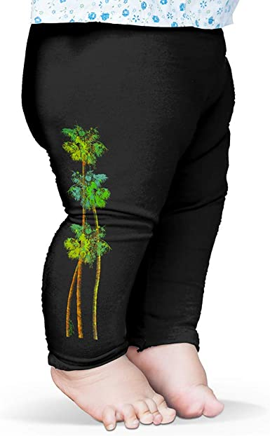 Twisted Envy Baby Pants Tall Palm Trees