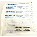 20-Pack Animal ID ISO Compliant Transponder RFID Microchip Tag