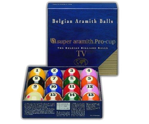 Set di palline super aramith pro tv 57 2 mm piscina for Amazon piscina con palline