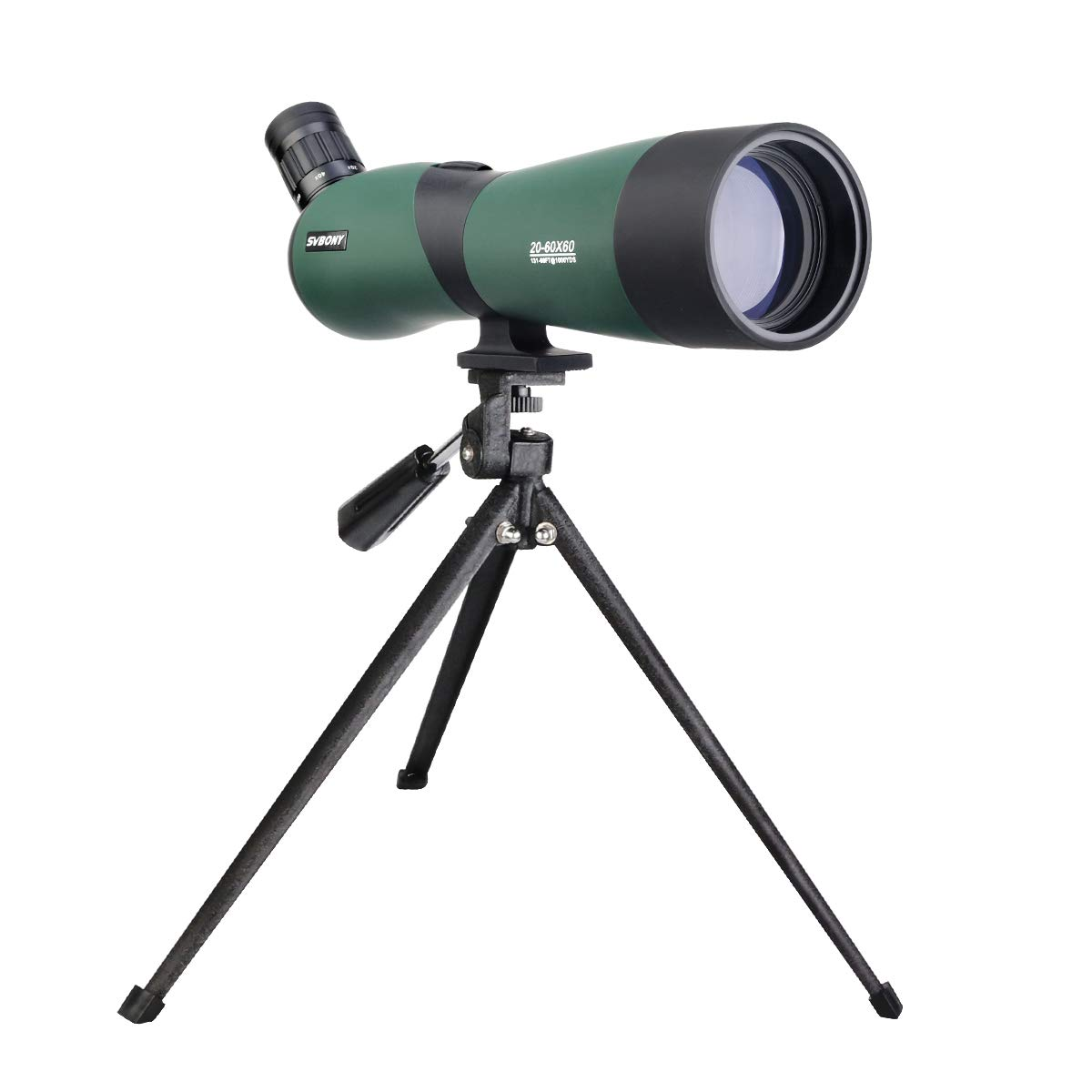 SVBONY SV403 Spotting Scope Hunting with Tripod Zoom 20-60x60mm Spotting Scopes for Target Shooting Bird Watching with Soft Case by SVBONY