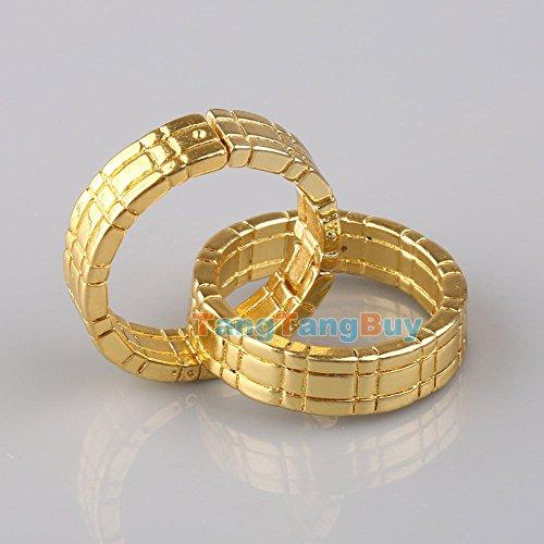 Magicswizz brand Amazing toy Magic Trick Himber Ring Gold Close Up Linking Finger (Prime Possum Costume)
