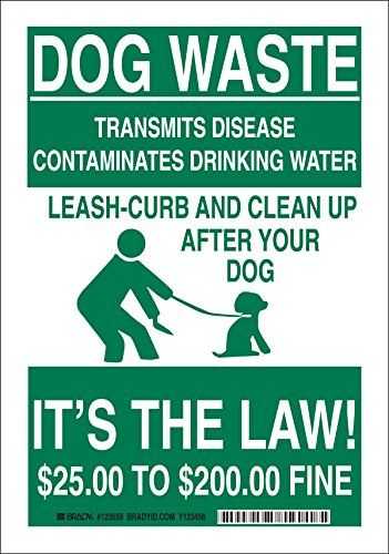Brady 123558 Recycle and Environment Sign, Legend