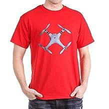 CafePress - DJI Phantom Quadcopter Top View T-Shirt - Comfortable Cotton T-Shirt