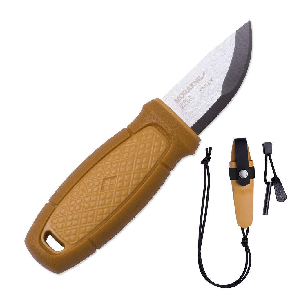Mora FT01781 Cuchillo a Lama Fissa,Unisex - Adulto, Amarillo, un tamaño