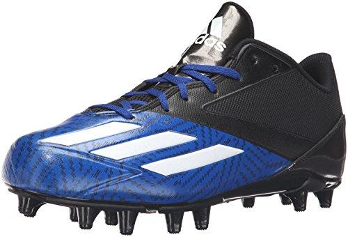 adidas Performance Men's 5-Star Low Football Shoe, Black/White/Collegiate Royal, 11 M US