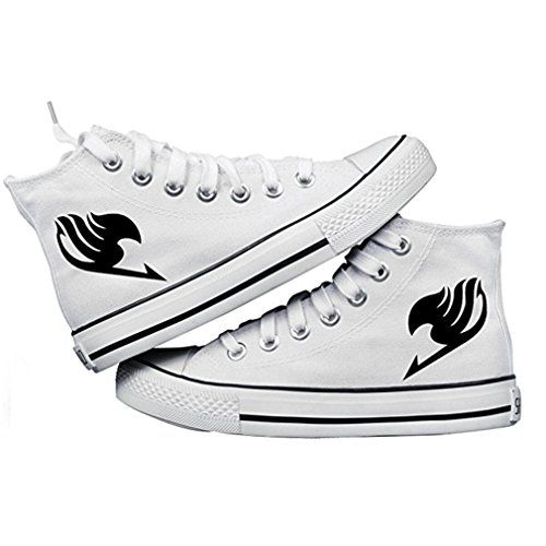 Bromeo Fairy Tail Unisexo Hola-Top Zapatillas de lona Trainers Zapatos Shoes