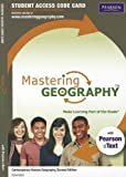 MasteringGeography#8482; with Pearson eText -- Standalone Access Card -- for Contemporary Human Geography, Rubenstein, James M., 0321821211