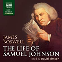 The Life of Samuel Johnson Audiobook by James Boswell Narrated by David Timson
