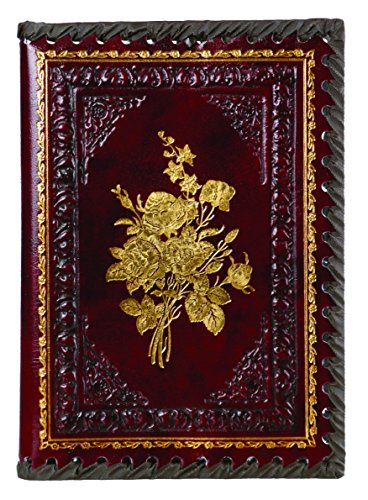 Refillable Leather Journal Embossed Design