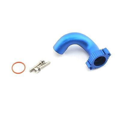 Traxxas 5287 Blue-Anodized Aluminum Header (TRX 2.5, 2.5R, 3.3): Toys & Games