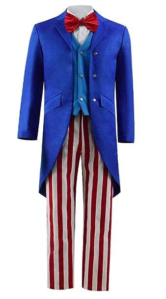 Amazon.com: Dahee - Disfraz de tío americano para hombre ...