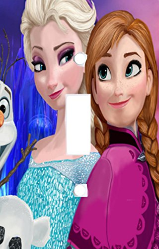 Got You Covered Disney Frozen Elsa Anna and Olaf Light Switch Cover or Outlet, 1 Toggle