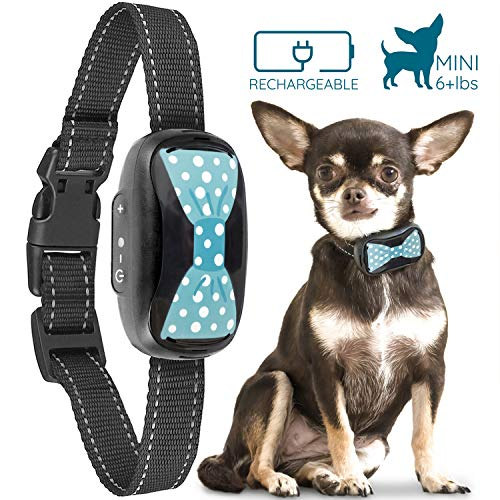 GoodBoy Humane Bark Collar for Small Dogs - Vibrating Anti Barking Device with New 2019 Design and Microchip Upgrade for Better Bark Detection - Rechargeable & Weatherproof