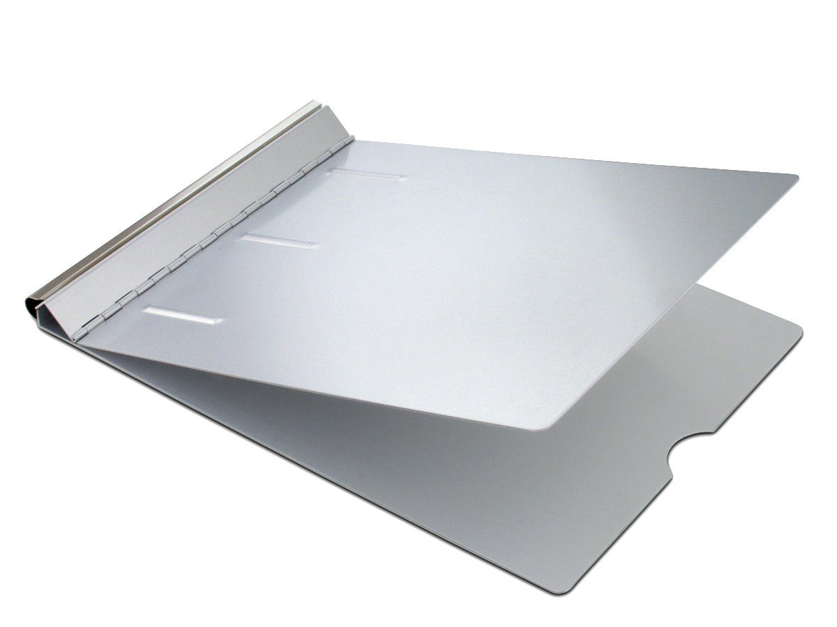 Saunders Recycled Aluminum Springback Sheet Holder - Durable Document Holder with Privacy Cover. Stationery Supplies