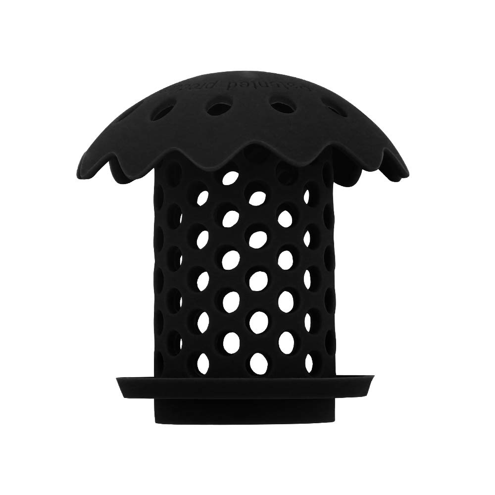 Green Vataler B-Comb Universal Bathtub Drain Hair Catcher Stand-Up Shower Stall Drain Protector//Strainer//Snare 2 Pack
