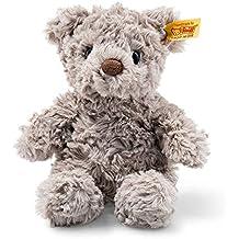 "Steiff Stuffed Teddy Bear- Soft And Cuddly Plush Animal Toy - 8"" Authentic Steiff"