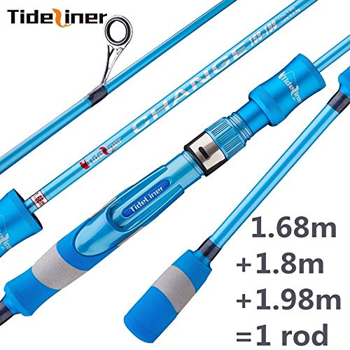 HUDITOOLS | Fishing Rods | Adjustable 1.68m 1.8m 1.98m UL Spinning Fishing Rod Telescopic Ultralight Spinner Quality Carbon Fiber Fishing Rod Pole 1 PCs