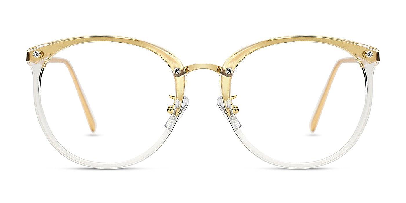 TIJN Blaue Licht Blockieren Brille ohne sehstärke Computer Brille Gegen Müdigkeit UV Blockieren Nicht Verschreibungspflichtigen Brillen 00087203