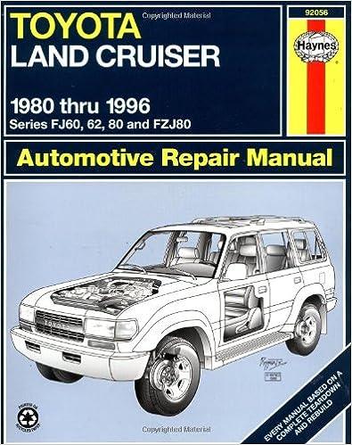 Toyota Land Cruiser FJ60, 62,80 & FZJ80, 80'96 (Haynes Repair Manuals)