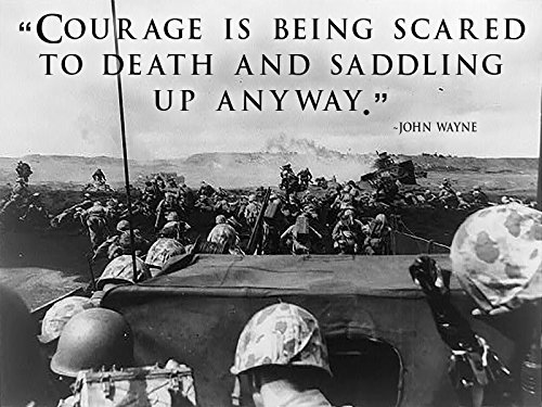 World War 2 Poster USMC Poster Battle of Iwo Jima 18x24 (WW2V8)