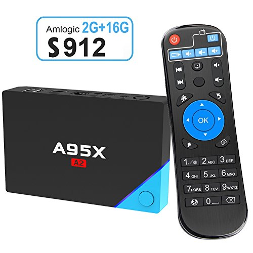 Edal A95X A2 smart Android 6.0 TV box Amlogic S912 Octa-core