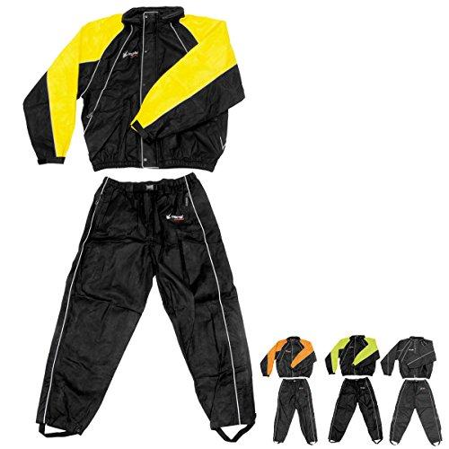 Frogg Toggs Hogg Togg Rainsuit - Small/Black/Yellow