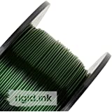 rigid.ink – 33ft (10m) of the Best, Pure 1.75mm PETG Filament for 3D Printers0.03mm+/- Tolerance - Transparent Green