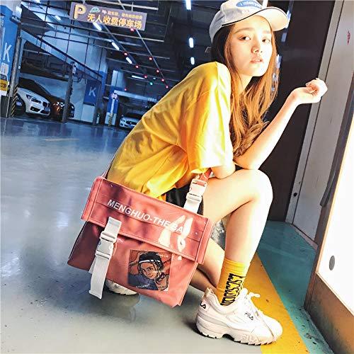personnalité Simple Mess de nbsp;Version de Mode gelée Paquet Sac de WSLMHH la coréenne Rose d'épaule marée de PTw6wZIq