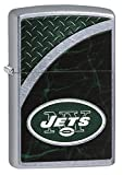 Zippo NFL New York Jets Street Chrome Pocket Lighter