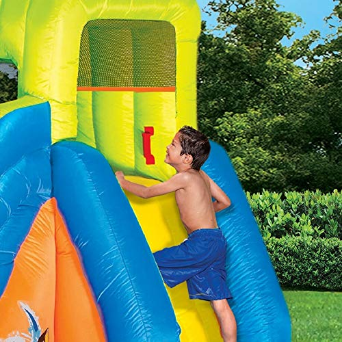 BANZAI Pipeline Twist Kids Inflatable Outdoor Water Pool Aqua Park and Slides by BANZAI (Image #2)