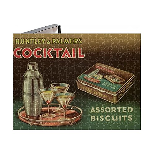 252 Piece Puzzle of Huntley and Palmers Cocktail biscuit tin lid (7226783)