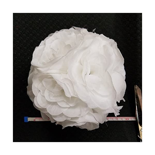 Ben-Collection-Fabric-Artificial-Flowers-Silk-Rose-Pomander-Wedding-Party-Home-Decoration-Kissing-Ball-Trendy-Color-Simulation-Flower