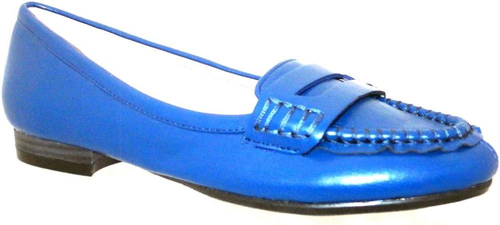 Blau 36 EU Bellini Damen Escape Moc-Toe Classic Fashion Loafers