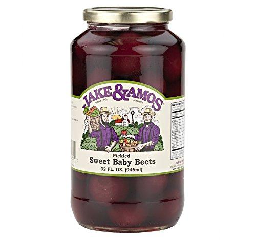 Jake & Amos Pickled Sweet Baby Beets 32 Oz. (2 Jars)
