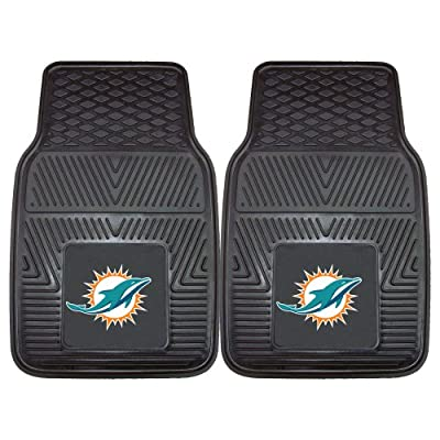 FANMATS NFL Miami Dolphins Vinyl Car Mat